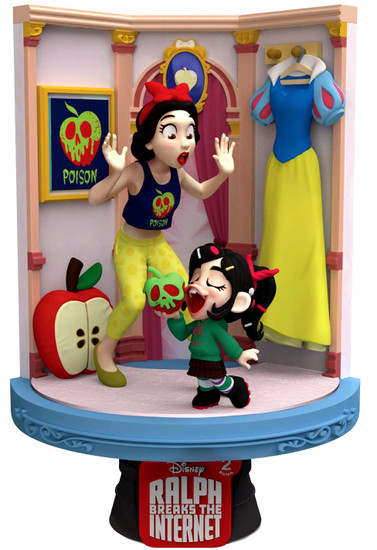 Disney Wreck-It Ralph 2: Ralph Breaks the Internet D-Stage Snow White 6-Inch Diorama Statue DS-026