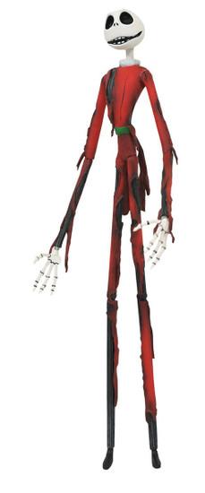 Nightmare Before Christmas Select Series 8 Burnt Santa Jack Action Figure
