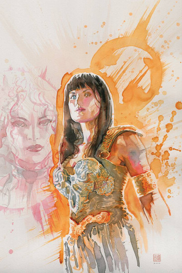 Dynamite Entertainment Xena Warrior Princess #2 Comic Book [David Mack Virgin Cover]