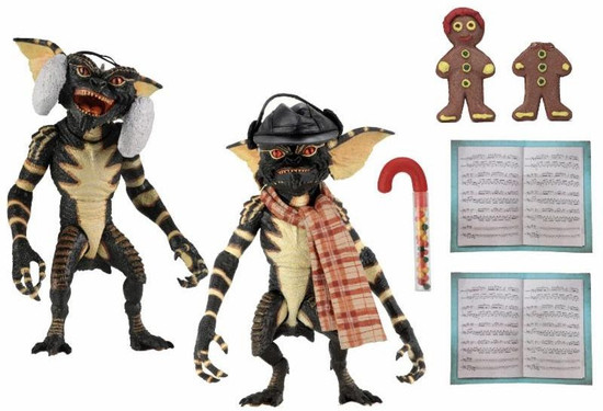 NECA Gremlins Christmas Carol Winter Scene Action Figure 2-Pack