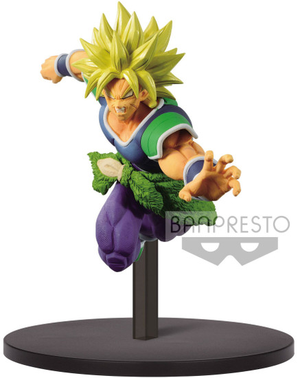 Dragon Ball Super Match Makers Figure Collection Super Saiyan Broly 6.2-Inch Collectible PVC Figure
