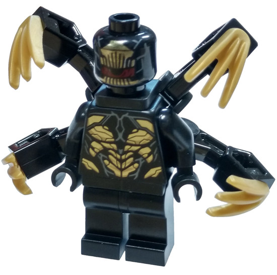 LEGO Marvel Super Heroes Avengers Endgame Outrider [Extended Claws Loose]