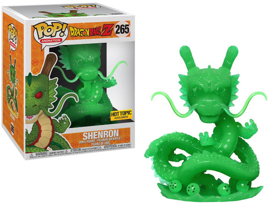 Funko Dragon Ball Z POP! Animation Shenron Exclusive 6-Inch Vinyl Figure #265 [Jade, Super-Sized]