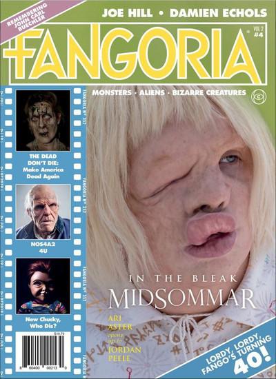 Cinestate Fangoria LLC Fangoria Vol. 2 Issue 4 Magazine [40th Anniversary Issue]