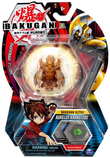 Bakugan Battle Planet Battle Brawlers Ultra Aurelus Krakelios