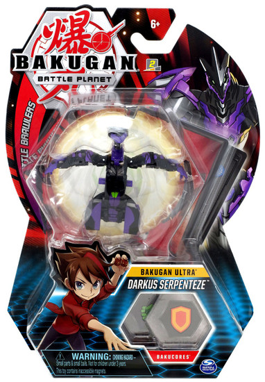 Bakugan Battle Planet Battle Brawlers Ultra Darkus Serpenteze