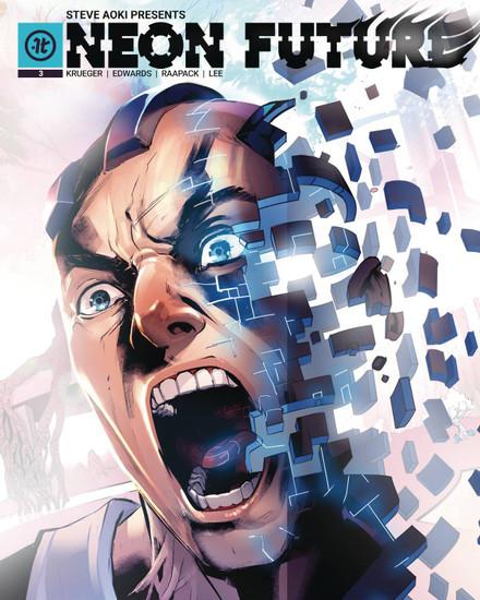 Impact Theory Neon Future #3 Comic Book [Jheremy Raapack Variant Cover B]