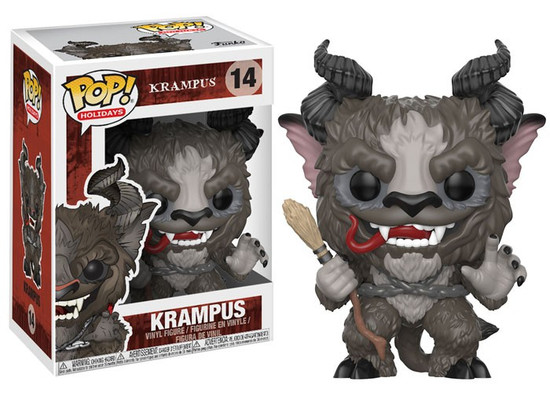 Funko POP! Holidays Krampus Vinyl Figure #14 [Grey, Regular Version, Damaged Package]