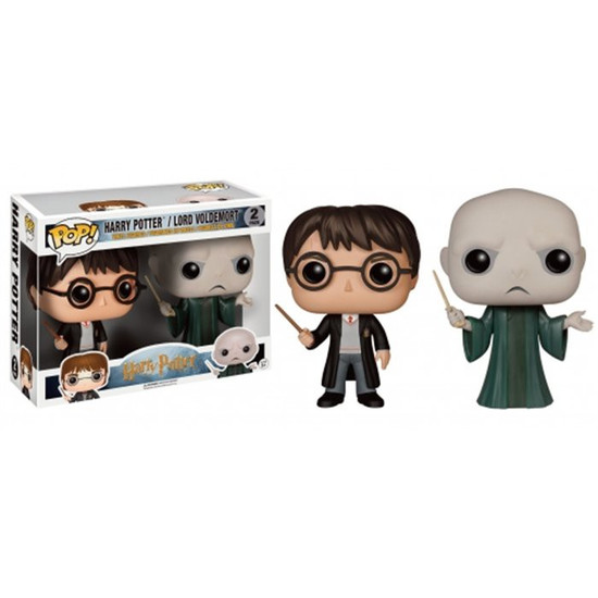 Funko POP! Movies Harry Potter & Lord Voldemort Exclusive Vinyl Figure [Damaged Package]