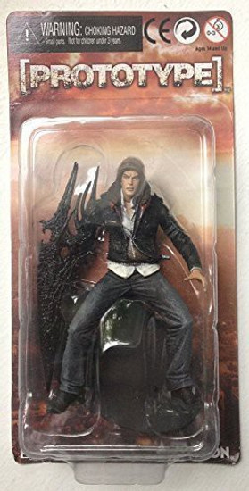 NECA Prototype Player Select Alex Mercer Action Figure [3 Inch]