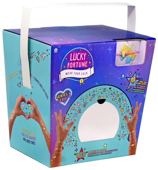 Lucky Fortune Series 1 Fortune Cookie Mystery Box [36 Packs]
