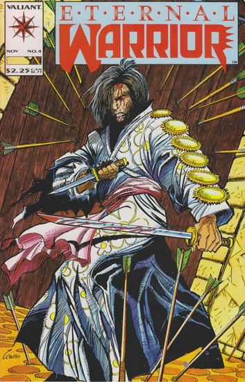 Valiant Comics Eternal Warrior #4 Comic Book [1st Appearance of Bloodshot]