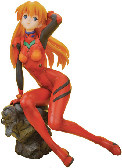 Evangelion 2.0: You Can (Not) Advance Asuka Langley 7.75-Inch Collectible PVC Figure [Plugsuit Version]