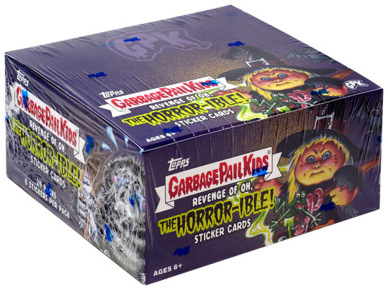 Garbage Pail Kids Topps 2019 Revenge of the Oh, The Horror-ible Trading Card Sticker Box [24 Packs]