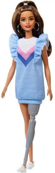 Fashionistas Barbie 13.25-Inch Doll #121 [Prosthetic Leg]