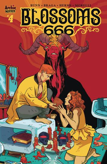 Archie Comic Publications Blossoms 666 #4 Comic Book [Cover C]