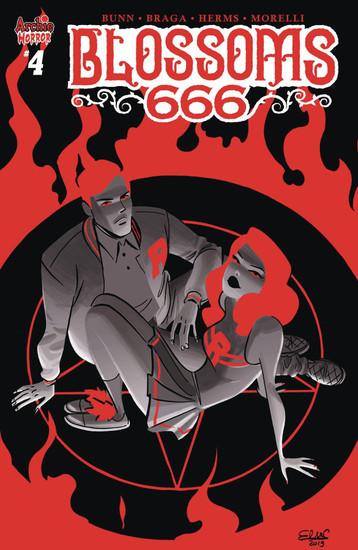 Archie Comic Publications Blossoms 666 #4 Comic Book [Cover B]