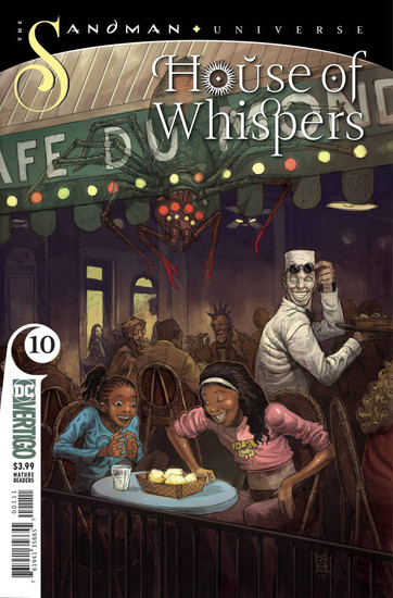 DC House of Whispers #10 The Sandman Universe Comic Book