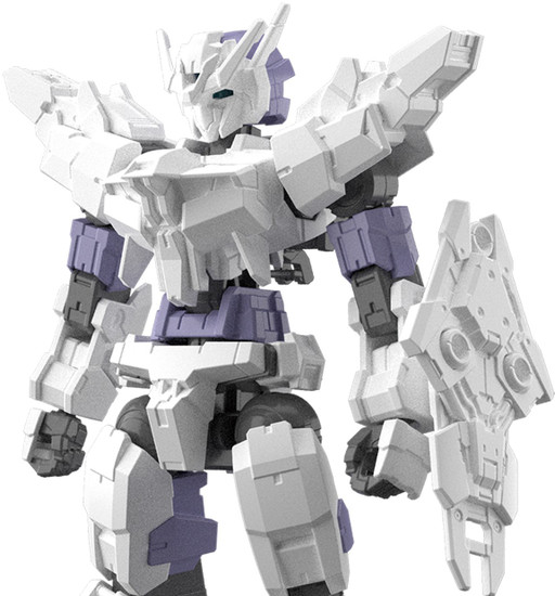 30 Minute Missions 30 MM Option Armor Option Armor For Commander Type Model Kit Accessory #09 [Alto Exclusive White]