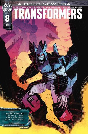 IDW Transformers #8 Comic Book [Anna Malkova Variant Cover]