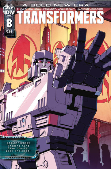 IDW Transformers #8 Comic Book [Casey Coller Variant Cover]