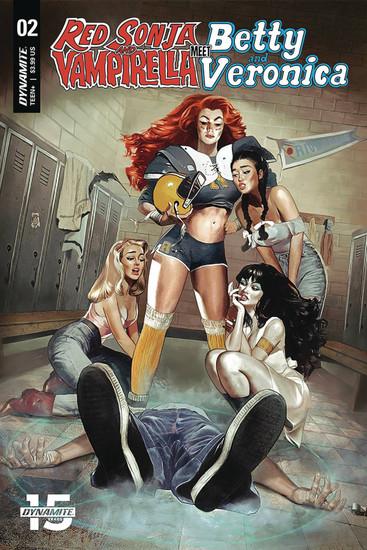 Dynamite Entertainment Red Sonja & Vampirella Meet Betty & Veronica #2 Comic Book
