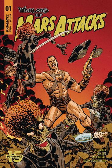 Dynamite Entertainment Warlord Of Mars Attacks #1 Comic Book