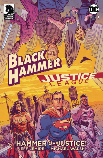 Dark Horse / DC Comics Black Hammer Justice League #1 of 5 Hammer of Justice Comic Book