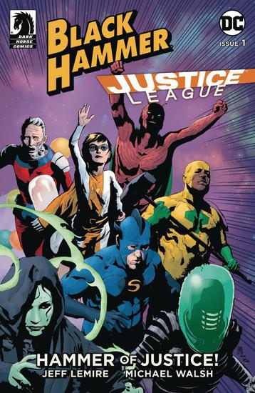 Dark Horse / DC Comics Black Hammer Justice League #1 of 5 Hammer of Justice Comic Book [Andrea Sorrentino Variant Cover]