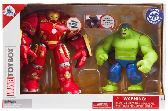 Disney Marvel Toybox Hulkbuster & Hulk Exclusive Action Figure 2-Pack Battle Set [Damaged Package]