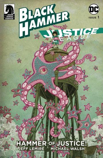 Dark Horse / DC Comics Black Hammer Justice League #1 of 5 Hammer of Justice Comic Book [Yuko Shimizu Variant Cover]