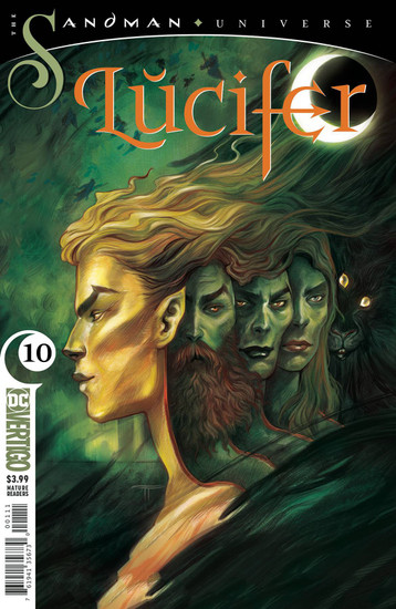 DC Lucifer #10 The Sandman Universe Comic Book