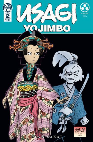 IDW Usagi Yojimbo #2 Comic Book