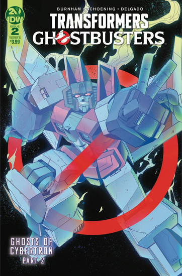 IDW Transformers & Ghostbusters #2 of 5 Comic Book [Priscilla Tramontano Variant Cover]