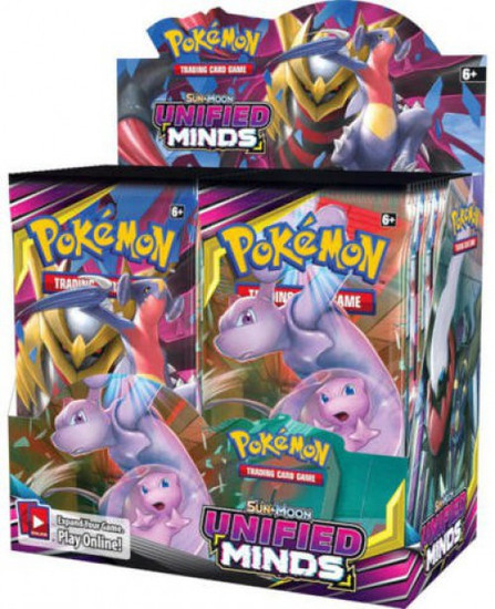 Pokemon Trading Card Game Sun & Moon Unified Minds Booster Box [36 Packs]