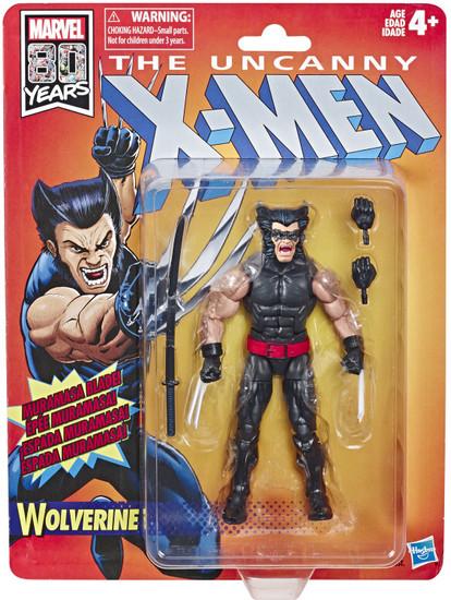 The Uncanny X-Men Marvel Legends Vintage (Retro) Series Wolverine Action Figure [1988 Series Costume]