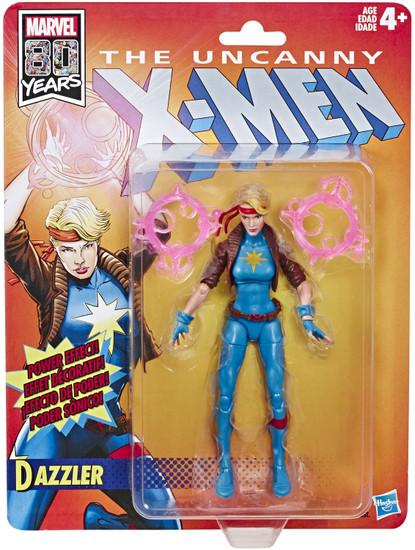 The Uncanny X-Men Marvel Legends Vintage (Retro) Series Dazzler Action Figure
