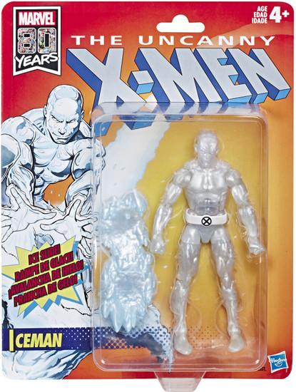 The Uncanny X-Men Marvel Legends Vintage (Retro) Series Iceman Action Figure