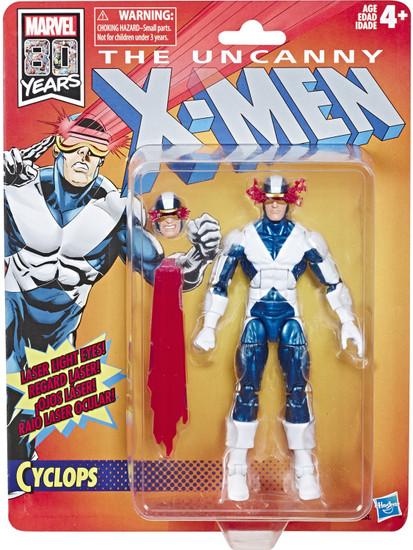 The Uncanny X-Men Marvel Legends Vintage (Retro) Series Cyclops Action Figure [X-Factor Costume]