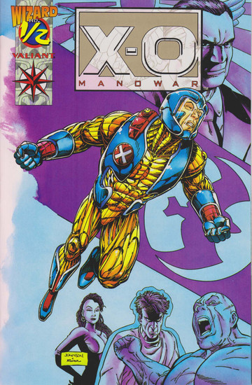 Valiant Comics X-O Manowar #1/2 Comic Book [Limited Gold Edition]