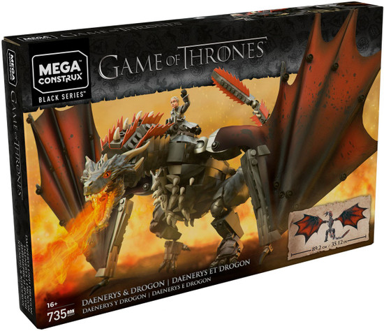 Game of Thrones Black Series Daenerys & Drogon Set