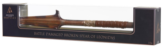 Assassin's Creed Odyssey Battle Damaged Broken Spear of Leonidas Exclusive Replica