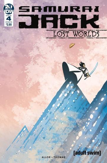 IDW Samurai Jack Lost Worlds #4 Comic Book [Gavin Fullerton Variant B Cover]