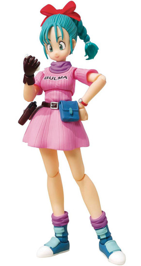 Dragon Ball S.H. Figuarts Bulma Action Figure [Adventure Begins]