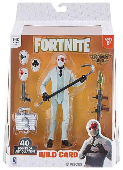 Fortnite Legendary Series Wild Card Action Figure