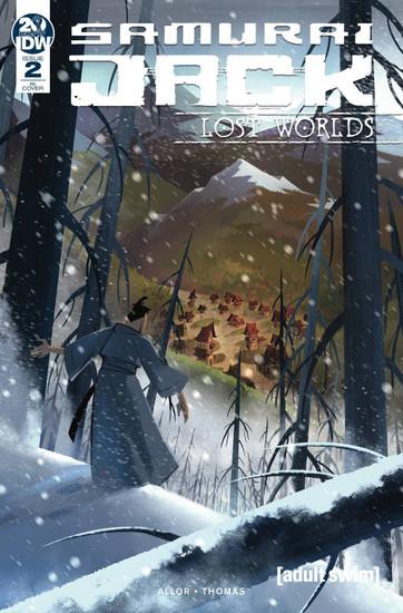 IDW Samurai Jack Lost Worlds #2 Comic Book [Sara Pitre-Durocher Variant Cover]