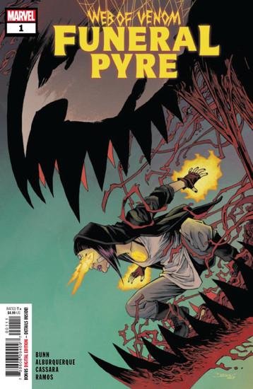 Marvel Comics Web of Venom Funeral Pyre #1 Comic Book