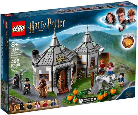 LEGO Harry Potter Hagrid's Hut: Buckbeak's Rescue Set #75947