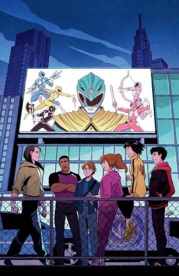 Boom Studios Go Go Power Rangers Forever Rangers #1 Comic Book [Gurihiru Variant Cover]