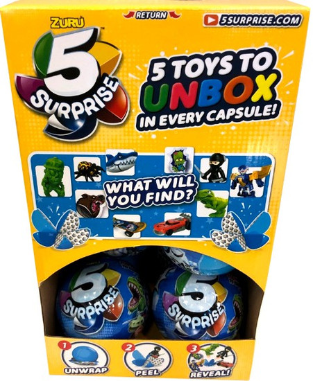 5 Surprise BLUE Mystery Box [12 Packs]